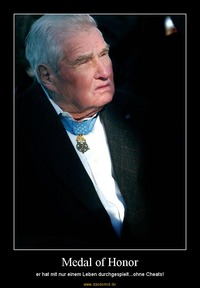 Medal of honor er hat mit nur einem leben durchgespielt ohne