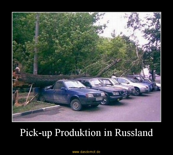 Pick-up Produktion in Russland –