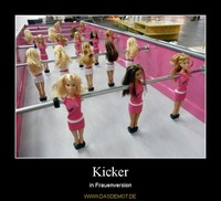 Kicker – in Frauenversion