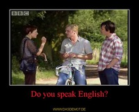 Do you speak English? –