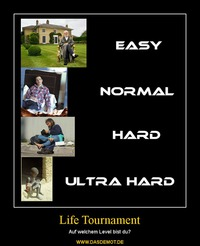 Life Tournament – Auf welchem Level bist du?