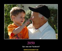 2050 – Opi, was war Facebook?