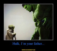 Hulk, I´m your father... –