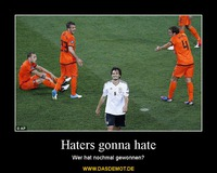 Haters gonna hate – Wer hat nochmal gewonnen?
