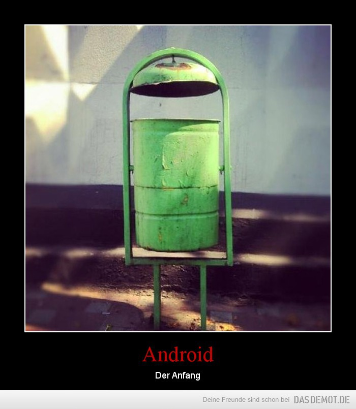 Android – Der Anfang
