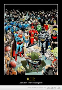 R.I.P. – Joe Kubert - Die Comic-Legende
