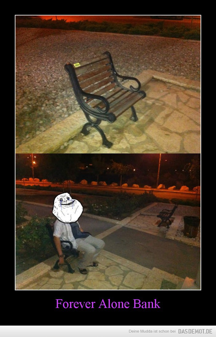 Forever Alone Bank –