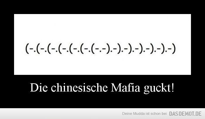 Chinesische Mafia