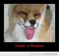 Firefox vs Windows –