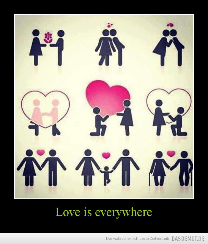 Love is everywhere –