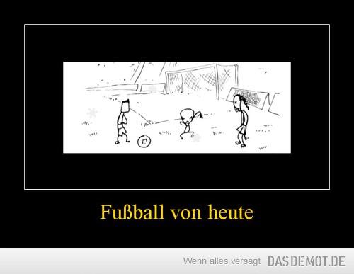 fußball von heute
