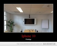 Iphone 10 – Prototyp