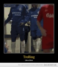 Trolling – Like a Boss