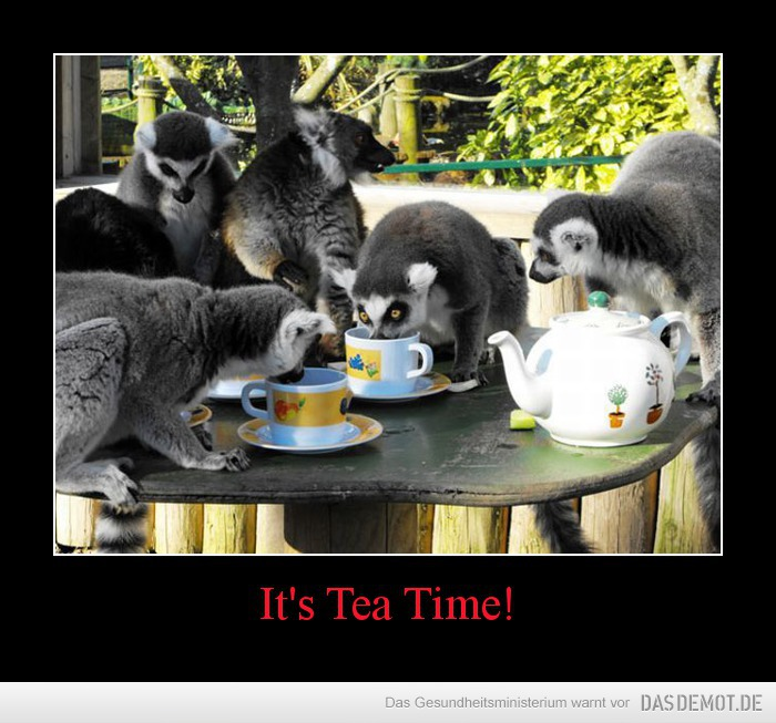 It's Tea Time! –