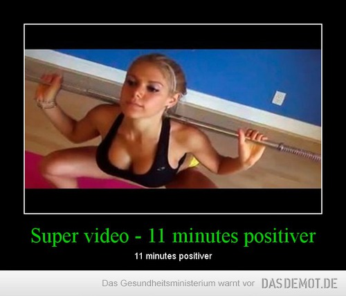 Super video - 11 minutes positiver – 11 minutes positiver