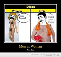 Men vs Woman – True story