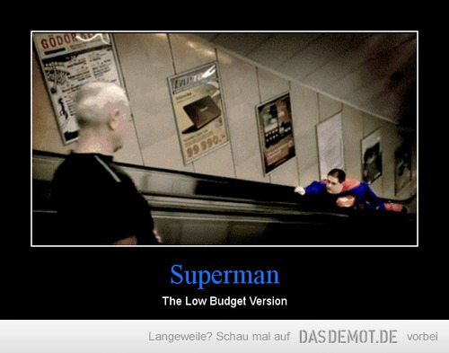 Superman – The Low Budget Version