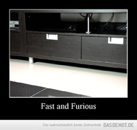 Fast and Furious –