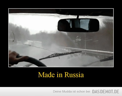 Made in Russia –