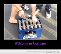 Welcome in Germany –