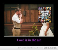 Love is in the air –