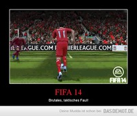 FIFA 14 – Brutales, taktisches Faul!