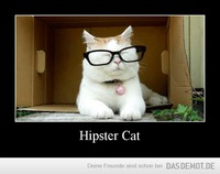 Hipster Cat –