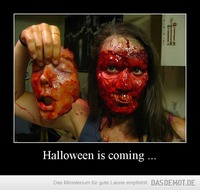 Halloween is coming ... –