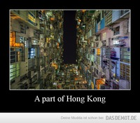 A part of Hong Kong –