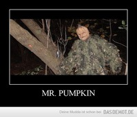 MR. PUMPKIN –