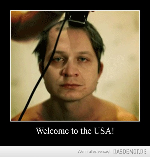 Welcome to the USA! –