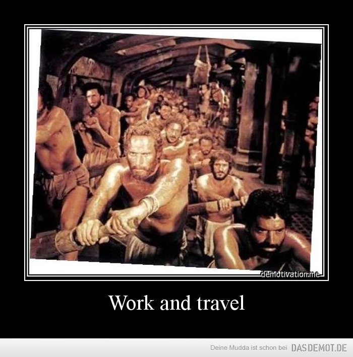Work and travel –