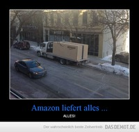 Amazon liefert alles ... – ALLES!