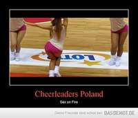 Cheerleaders Poland – Sex on Fire