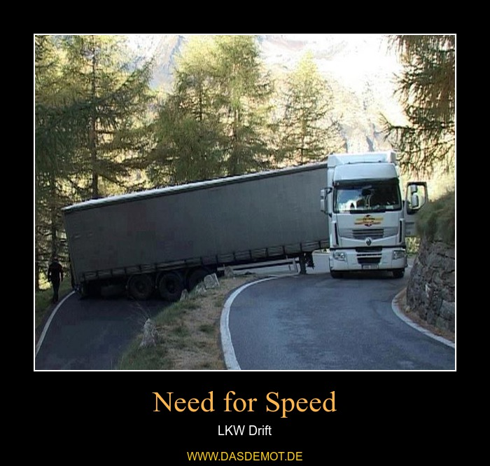 Need for Speed – LKW Drift