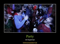 Party – mit Superman
