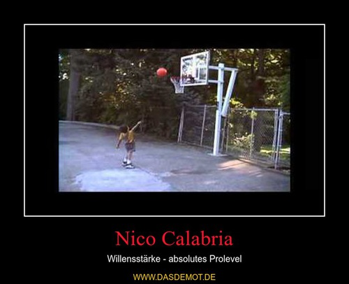 Nico Calabria – Willensstärke - absolutes Prolevel